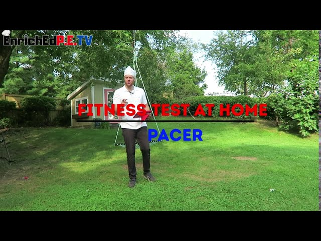PE Chef's Fitness Testing At Home: Pacer Run
