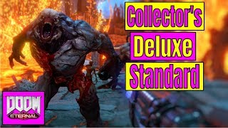 WHICH SHOULD YOU BUY? Doom Eternal COLLECTOR'S EDITION VS Doom Eternal DELUXE Edition | Pre Order