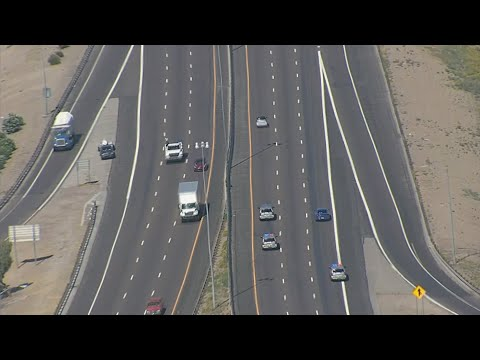 Troopers Follow Suspect In Smart Car On Chase Through Phoenix
