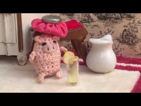 CROCHET PATTERN: Crochet Dollhouse, Amigurumi Doll, Miniature Doll ... | 360x480