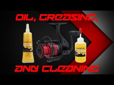 How to Oil, Grease, and Clean a Spinning Reel