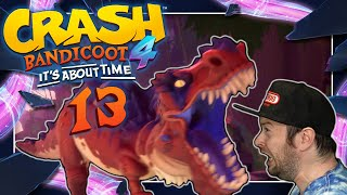 CRASH BANDICOOT 4: IT'S ABOUT TIME 📦 #13: Flucht vor T-Rex Angriff