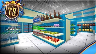 BUILDS A BRAND NEW STORE FOR FOOD! -Ep 4-BETA Store Empire | Danish Roblox
