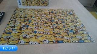 Puzzle Clementoni Impossible The Minions 1000
