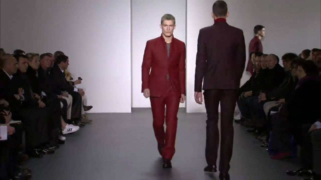 Calvin Klein collection men's fall 2011 runway show