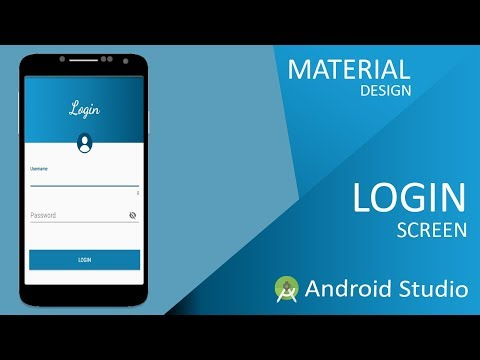 How To Create Beautiful Android Login Form - Material Design In Android Studio