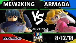 SSC 2018 SSBM - [A]   Armada (Peach) Vs. FOX MVG   Mew2King (Marth) - Smash Melee Grand Finals
