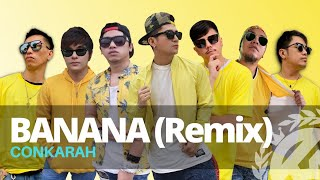 Cover images BANANA (Tiktok Remix) by Conkarah | DJ FLE - BANANA MINISIREN | Dance Fitness