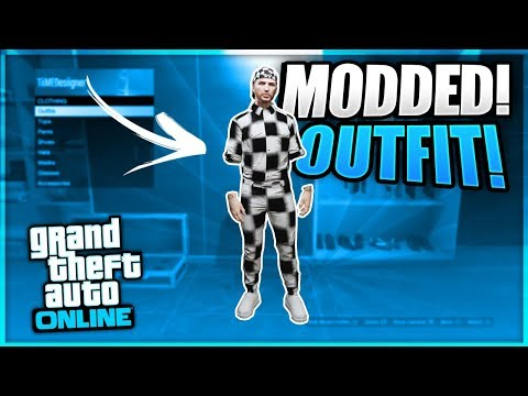 GTA 5 How To Get Fully Checkered board Modded Outfits 1.50! (GTA 5 Online Clothing Glitches 1.50)