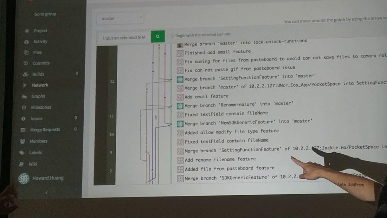 Gitlab Fork and merge