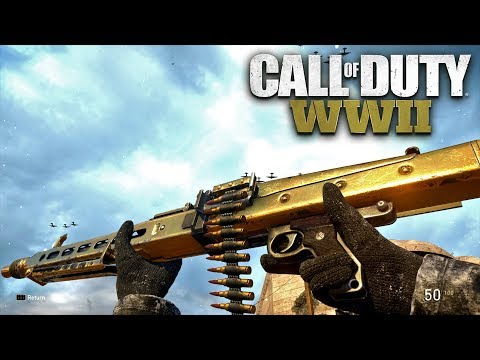 ROAD TO CHROME (GOLD MG42) - Call of Duty: WW2 Multiplayer G