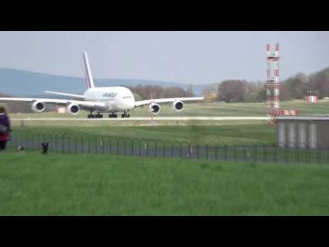 A380 Air France Dresden 12.04.2017