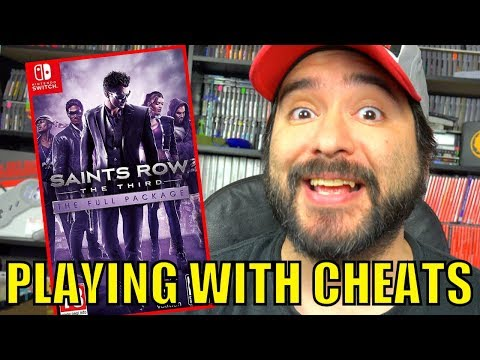 Saints Row: The Third - Playing With Cheats  | 8-Bit Eric