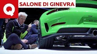 A lezione da Paolo Massai: i motopropulsori (parte 1) @ Salone di Ginevra 2018 | Quattroruote