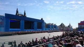 Генеральная репетиция Парада Победы 7 мая 2015 г.