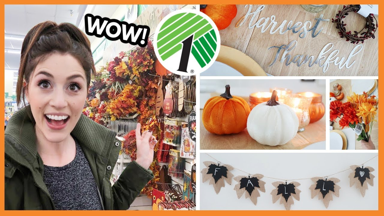*NEW* DOLLAR TREE FALL HAUL 🍁 2020 is the best year ever?!