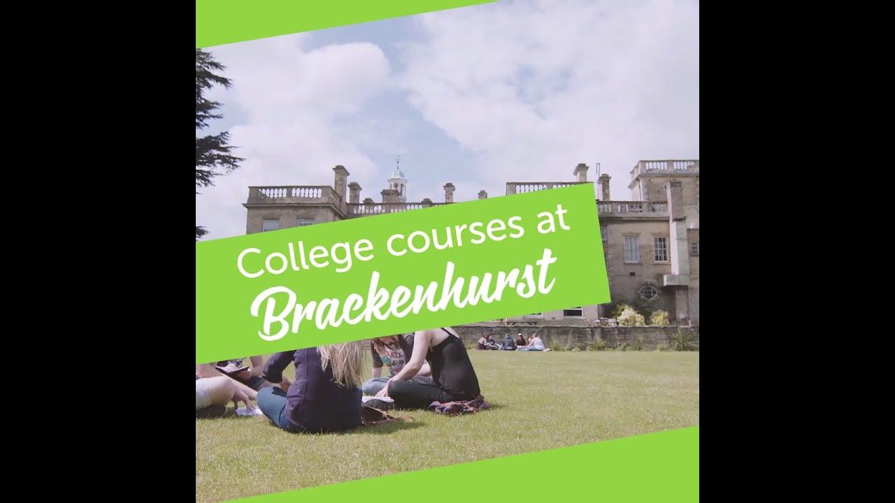 FE courses at Brackenhurst