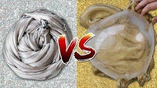 SLIME OURO VS PRATA - QUAL VOCÊ PREFERE? (GOLD SLIME VS SILVER SLIME)