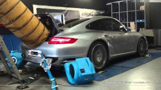 * Reprogrammation Moteur * Porsche 997 turbo 480cv STAGE 2 @ 572cv Dyno Digiservices Paris