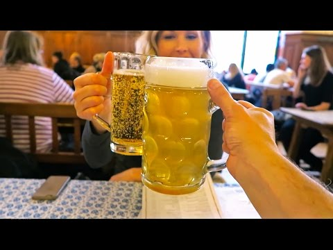 Munich, Germany • a BEER TOUR through beer city!