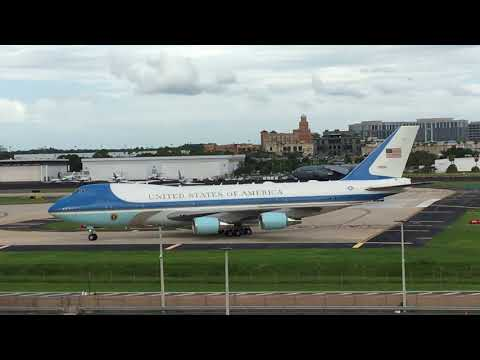 Air Force One Tampa International Airport July 31 2018 - Uneditied