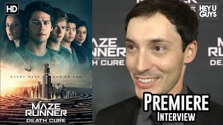 Director Wes Ball - Maze Runner: The Death Cure Premiere Interview