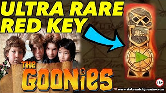 THE GOONIES SLOT 🔑🚨 Inc RED KEY !! 🔑 💀 Online Casino BONUS WINS !!