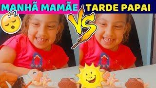 Download Video Rotina da Manhã com Mamãe e Tarde com Papai MP3 3GP MP4