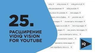 Как посмотреть теги видео на youtube? Расширение vidiq vision for youtube, балаболка