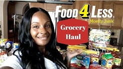 Food 4 Less Grocery Haul