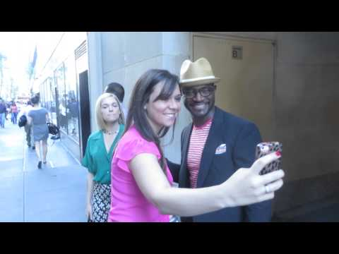 """Taye Diggs leaving Today Show after talking about """"Murder in the First"""" and Twitter"""