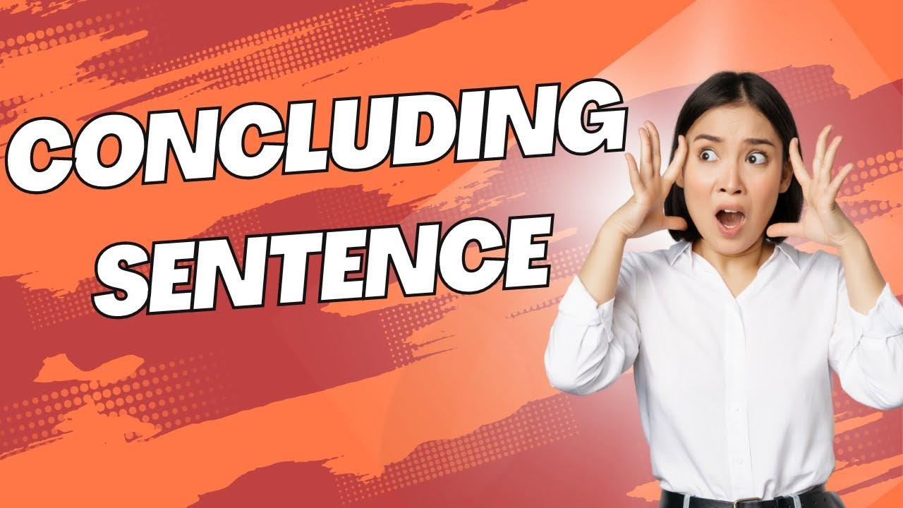 Download Concluding Sentences