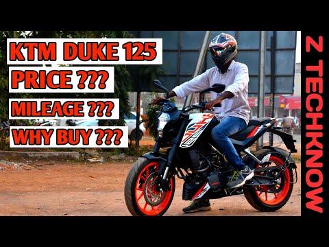 KTM Duke 125 Full Review | Mileage | Price | Pro & cons