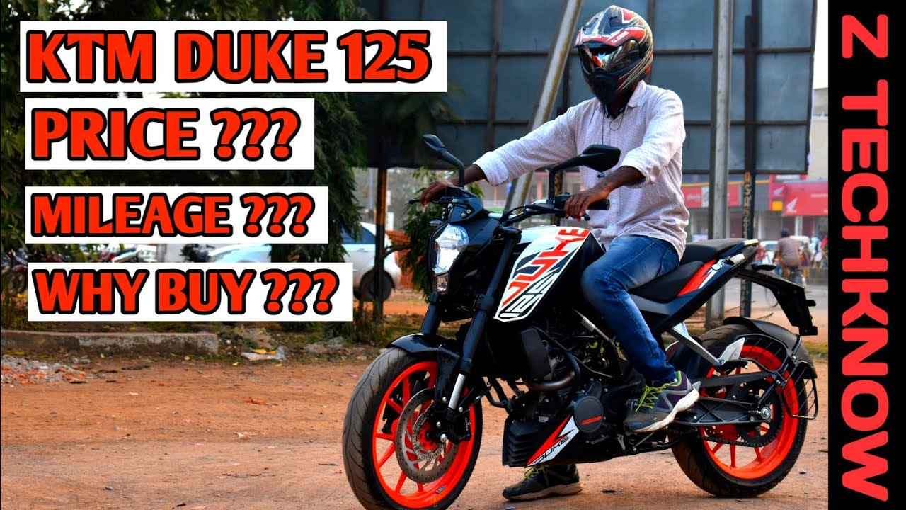 KTM Duke 125 Full Review | Mileage | Price | Pro & cons | Digital meter | Z  Techknow | Hindi