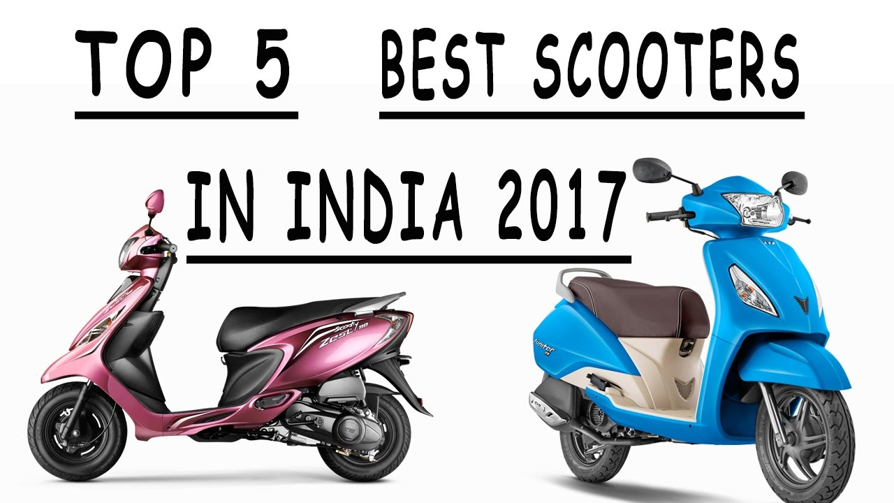 Top 5 Best Automatic Scooters in india 2017 l Best Scooters in India ...