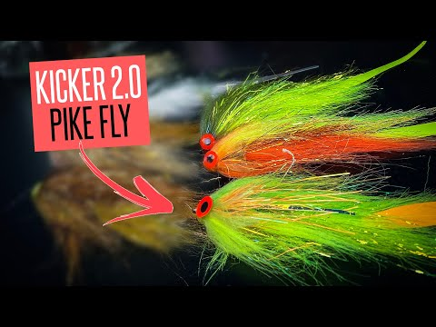 PIKE FLY TYING: