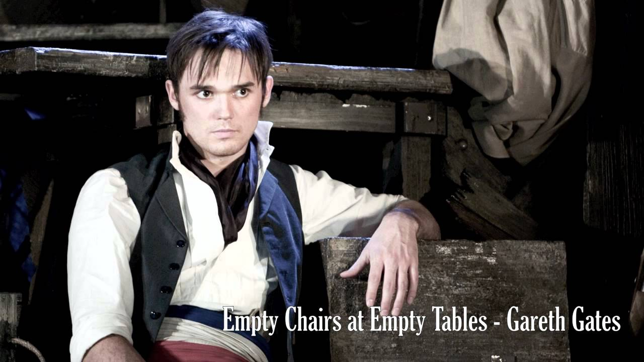Empty Chairs At Empty Tables (Live)   Gareth Gates (with Lyrics)   YouTube
