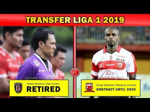 Update Transfer Pemain Liga 1 2019 (17 Desember 2018) - 동영상