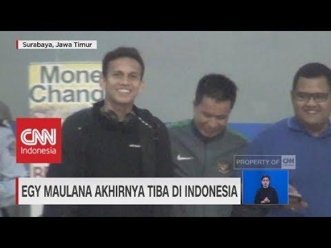 Siap Perkuat Timnas U-19, Egy Maulana Akhirnya Tiba di Indonesia