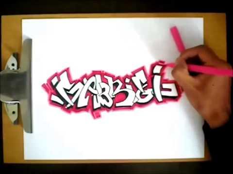 Graffiteando ''como hacer un graffiti'' - YouTube