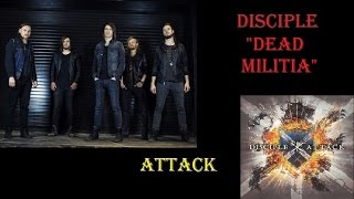"""Dead Militia"" - Disciple (Lyric Video)"