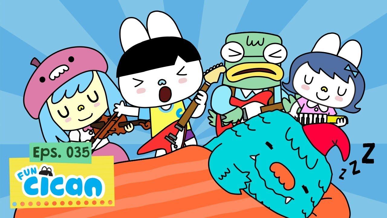 Fun Cican - Bangun Pagi (Official Music Video)
