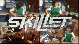 Back From The Dead - Skillet (Instrumental Cover) (Guitar Cover) (Bass Cover) (Drum Cover)