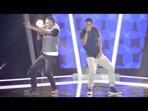 Reece & Tino Sings No Diggity | The Voice Australia 2014
