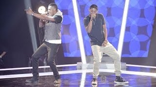 Reece & Tino Sings No Diggity | The Voice Australia 2014