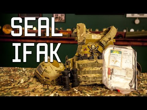 Navy SEAL Hidden IFAK | Individual First Aid Kit | Tactical Rifleman