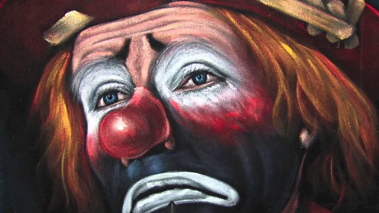 Traurige Clowns