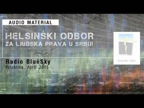 Radio BluéSky, Prishtina, April 2015