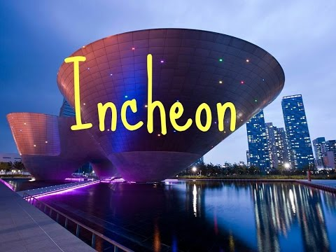 Tourist attractions in Incheon South Korea