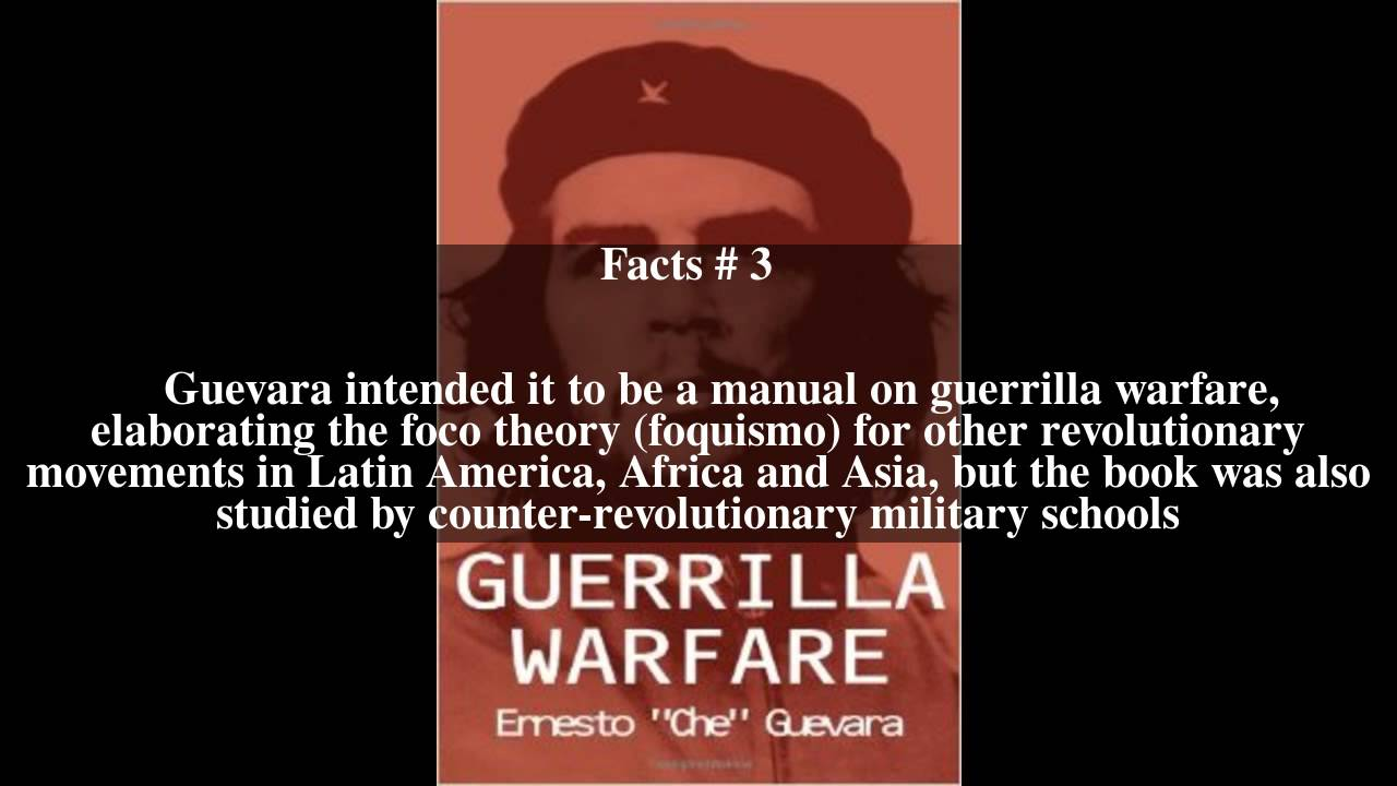 guerrilla warfare book essay An example of terrorism or tactical guerrilla warfare a story of jewish freedom fighters not told in their own holy book  recent guest essays:.